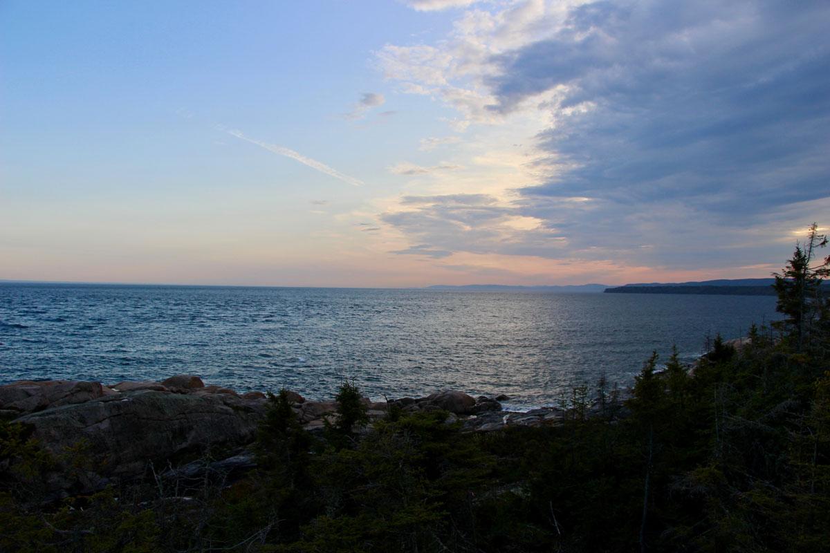 Coucher de soleil Saint Laurent