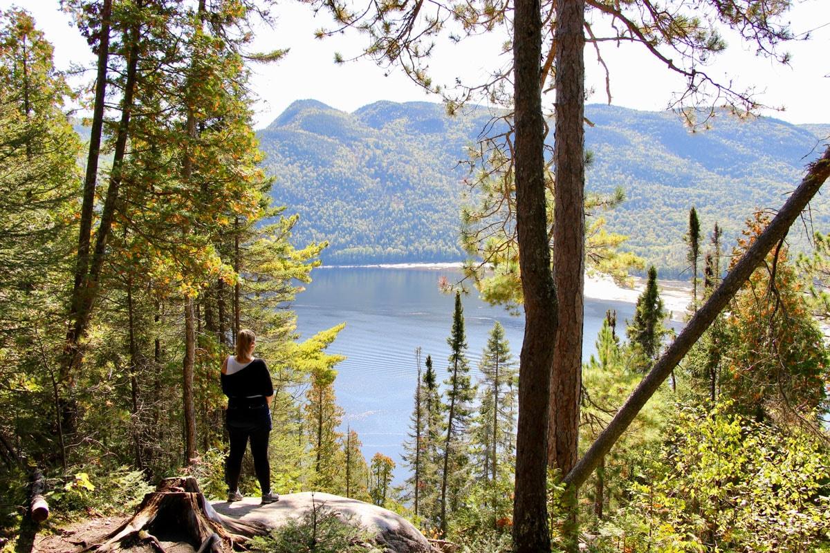 Elo vue Fjord du Saguenay Quebec