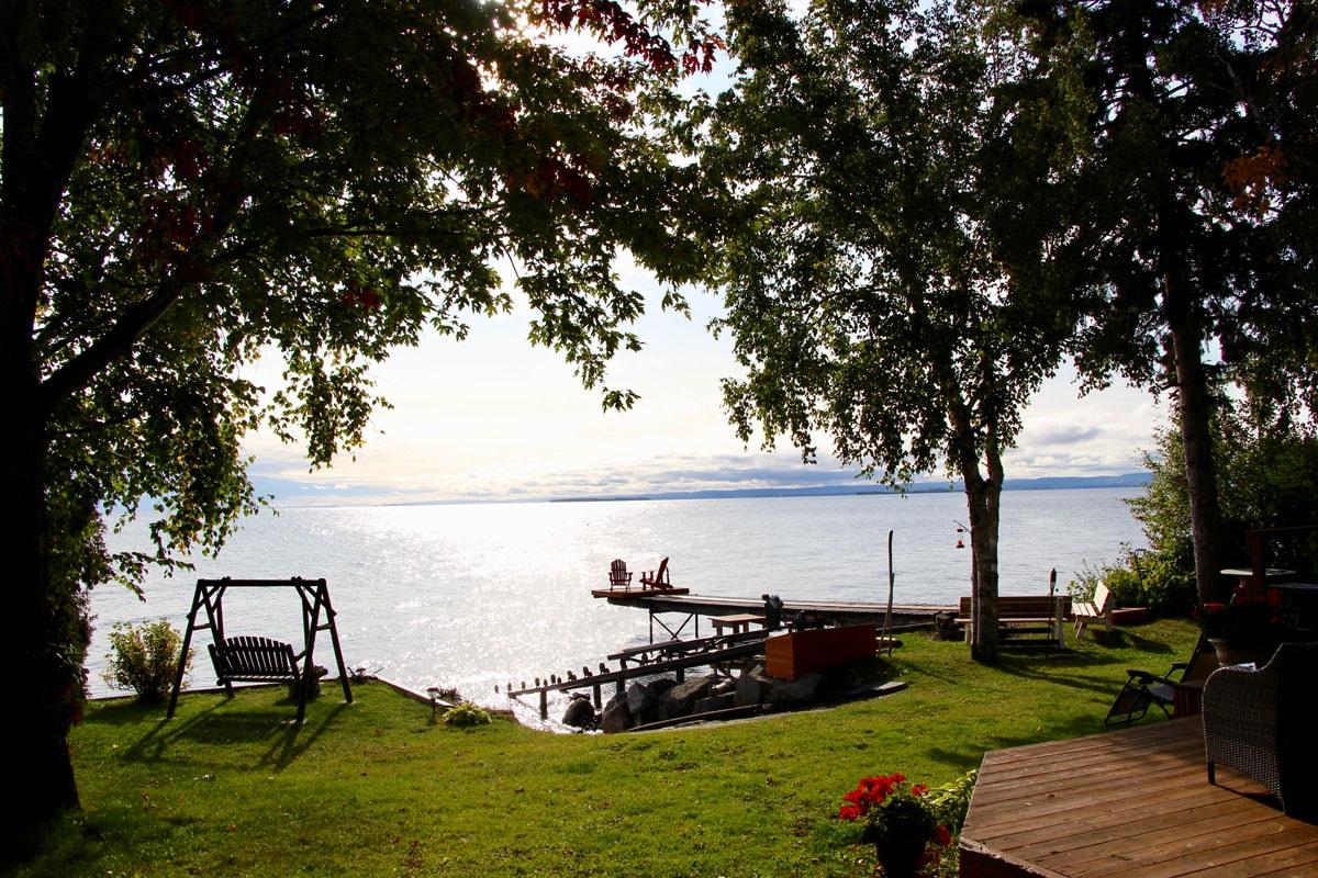 Jardin Lac Saint Jean Quebec