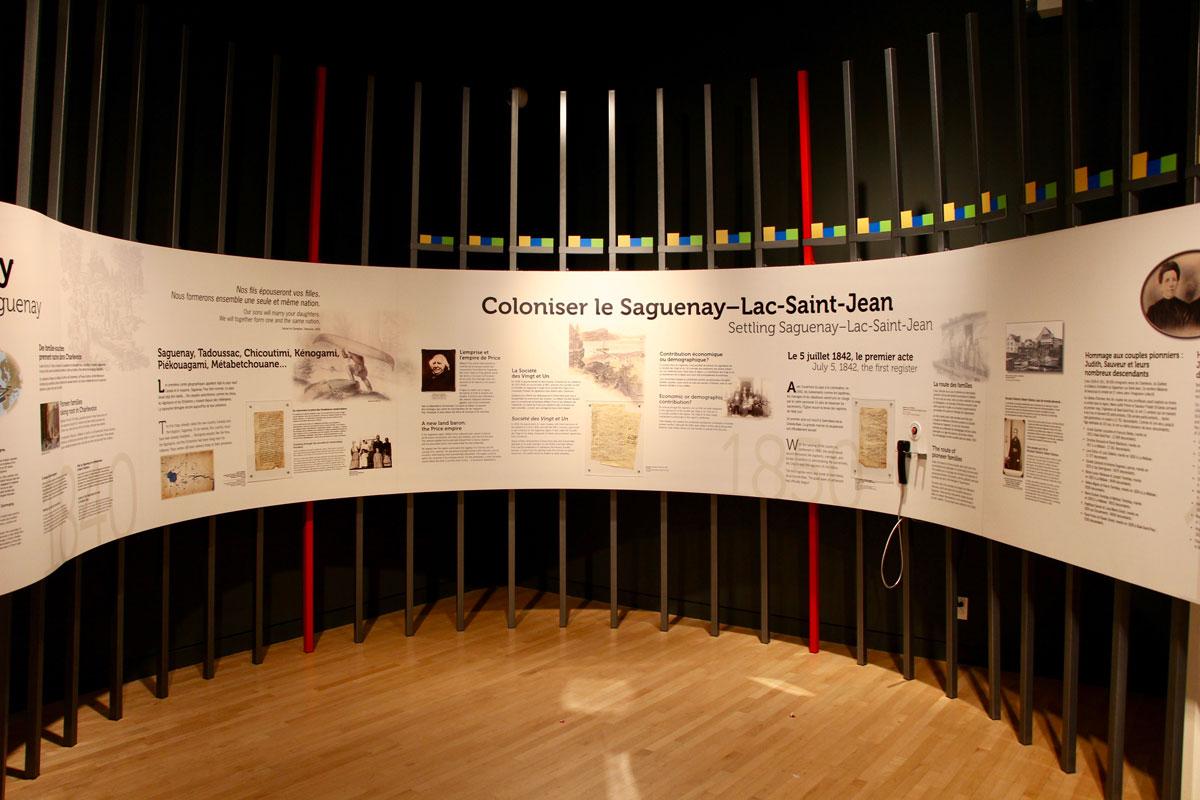 Musee exposition Fjord du Saguenay Quebec