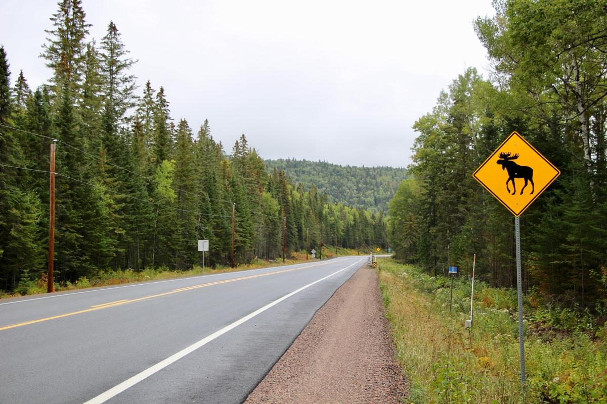 Route Quebec Traversee Orignal