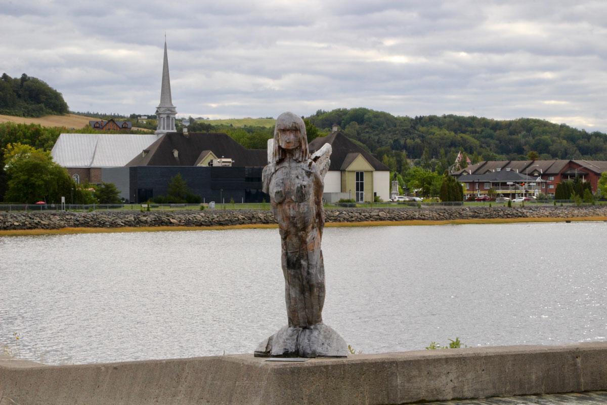 Sirene baie des ha ha Fjord du Saguenay Quebec