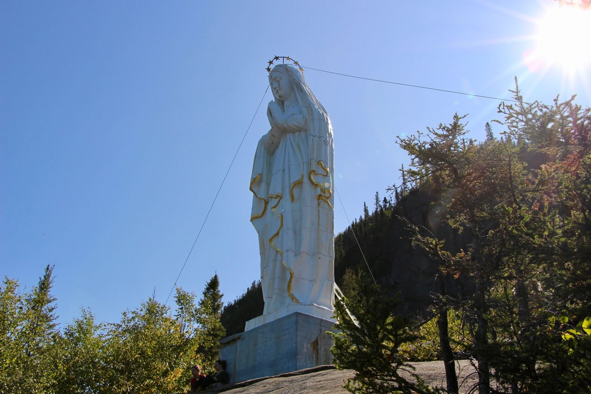 Statue Fjord-du-Saguenay Canada