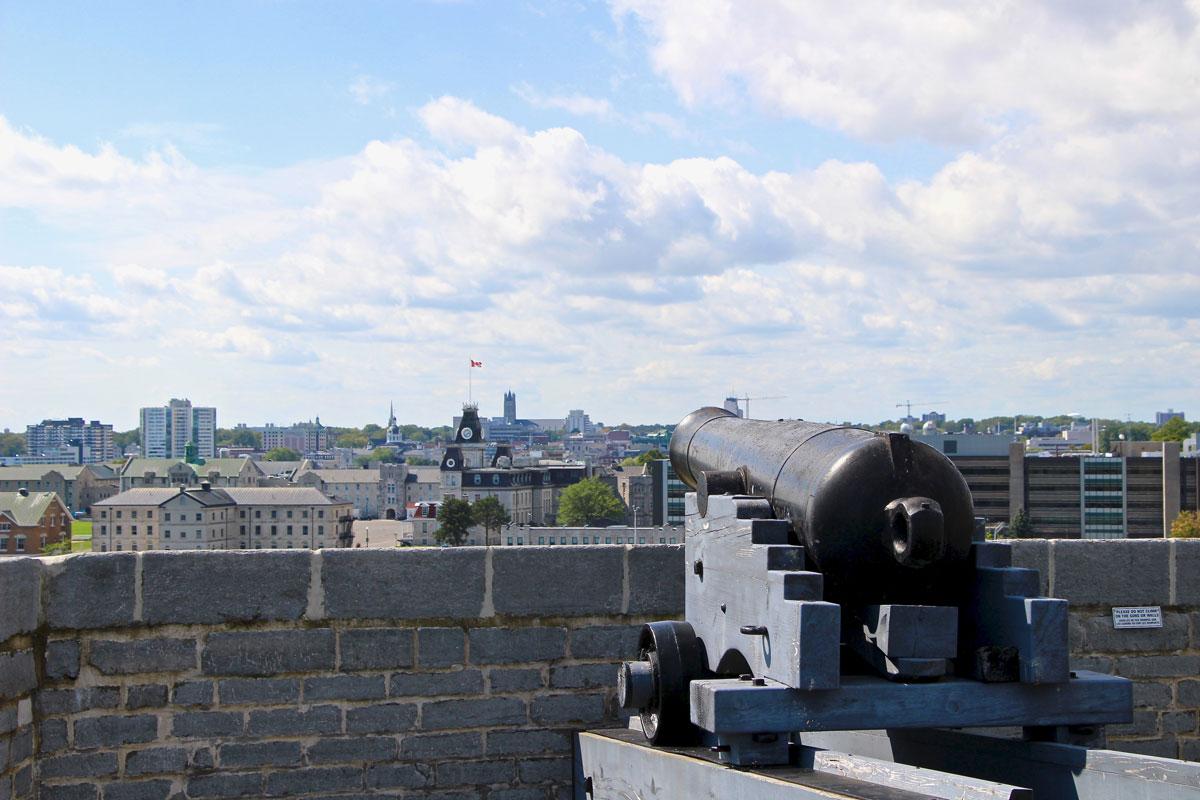 Fort Henry sur les hauteurs de Kingston