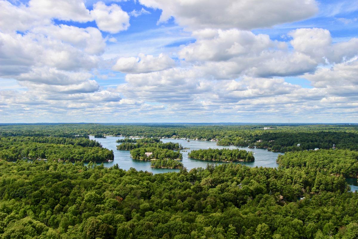 Panorama Mille Iles Ontario
