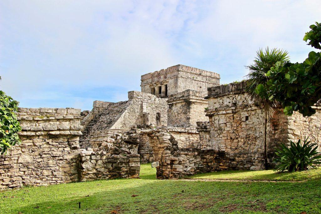 Batiment Ruines Tulum Yucatan