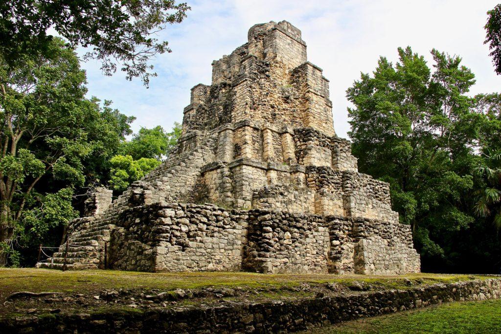 Castillo Ruines Muyil Tulum Yucatan