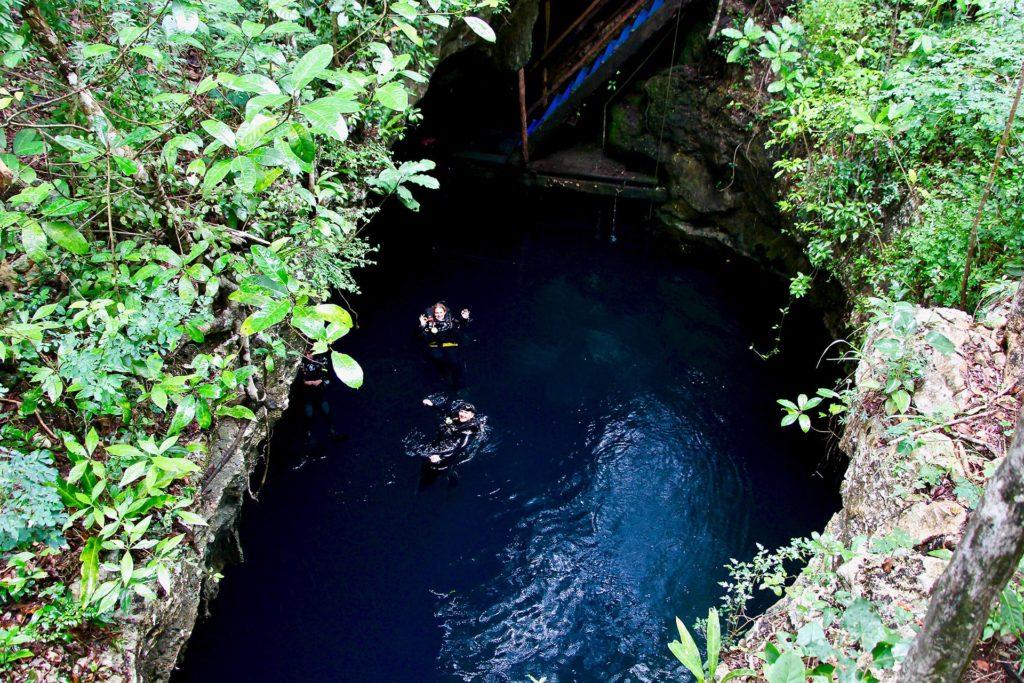 Cenote El Pit Plongée Tulum Mexique