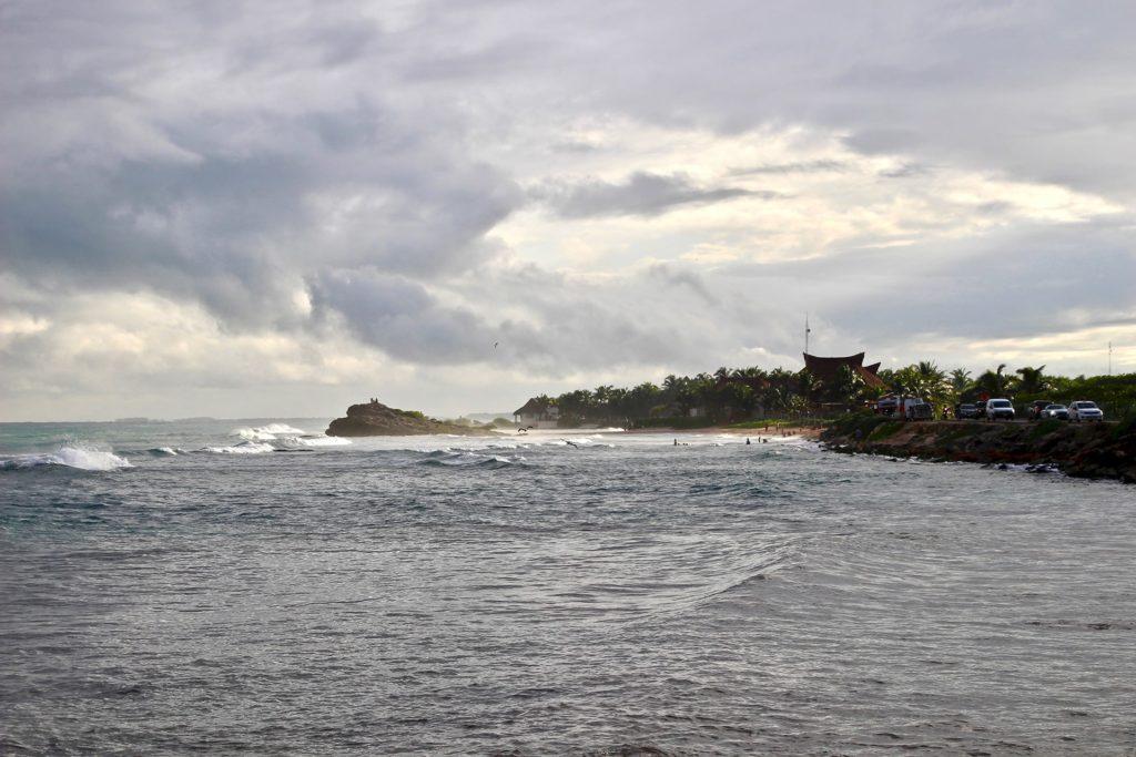 Coucher de soleil Plongée Tulum Mexique