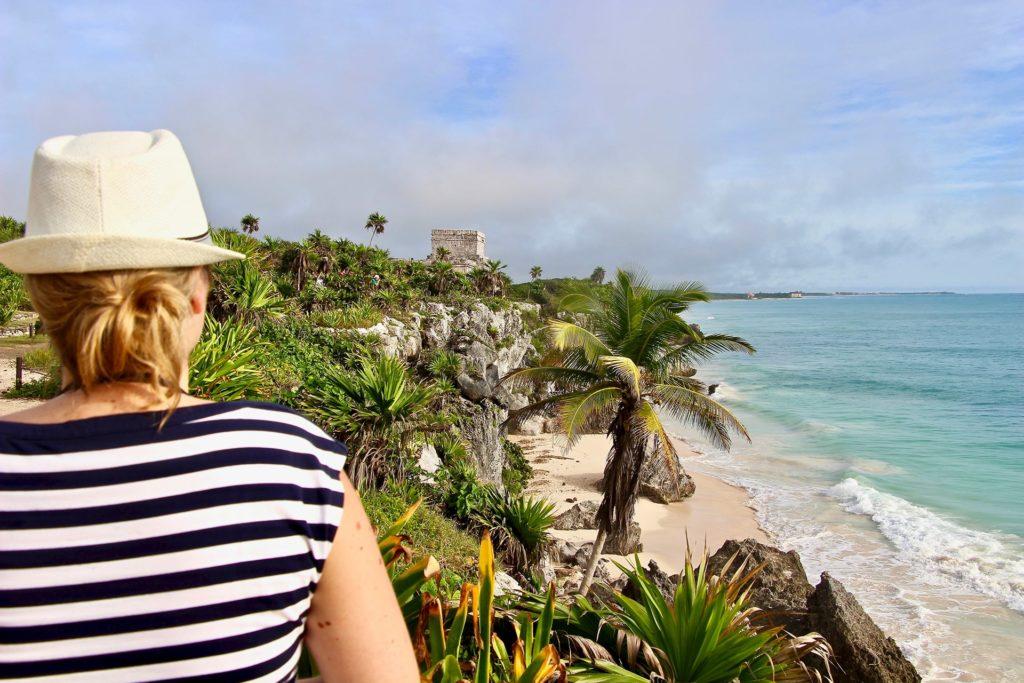 Elo Ruines Tulum Yucatan
