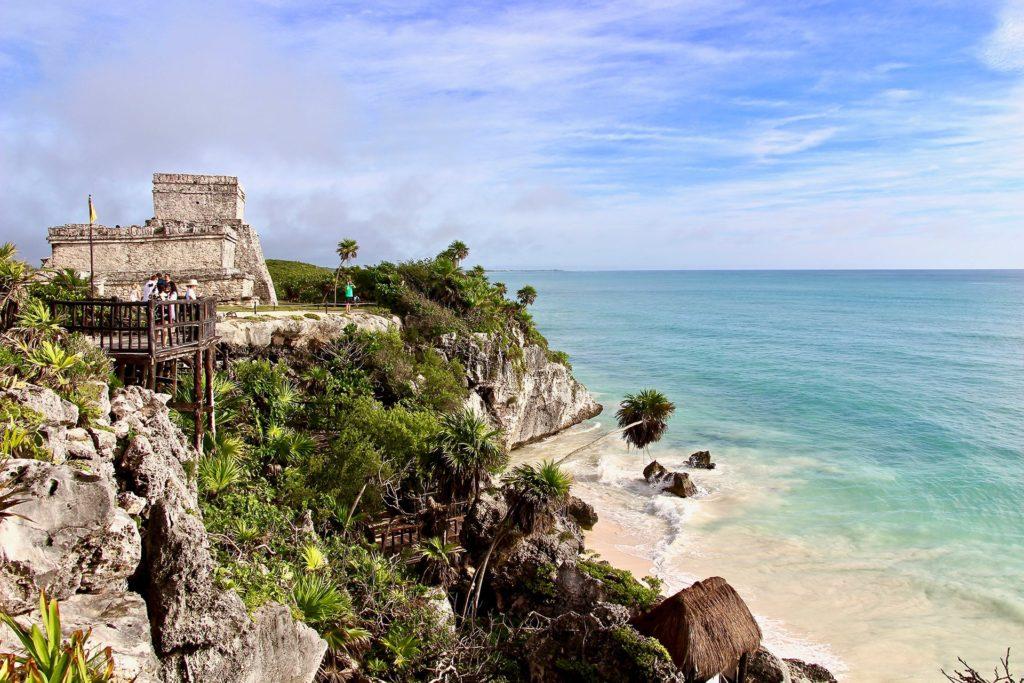 Ruines Tulum Yucatan Océan