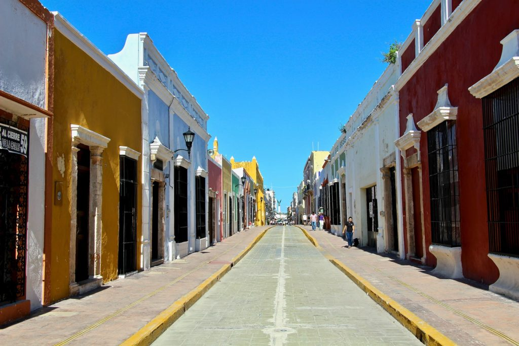 Calle 59 Campeche Yucatan