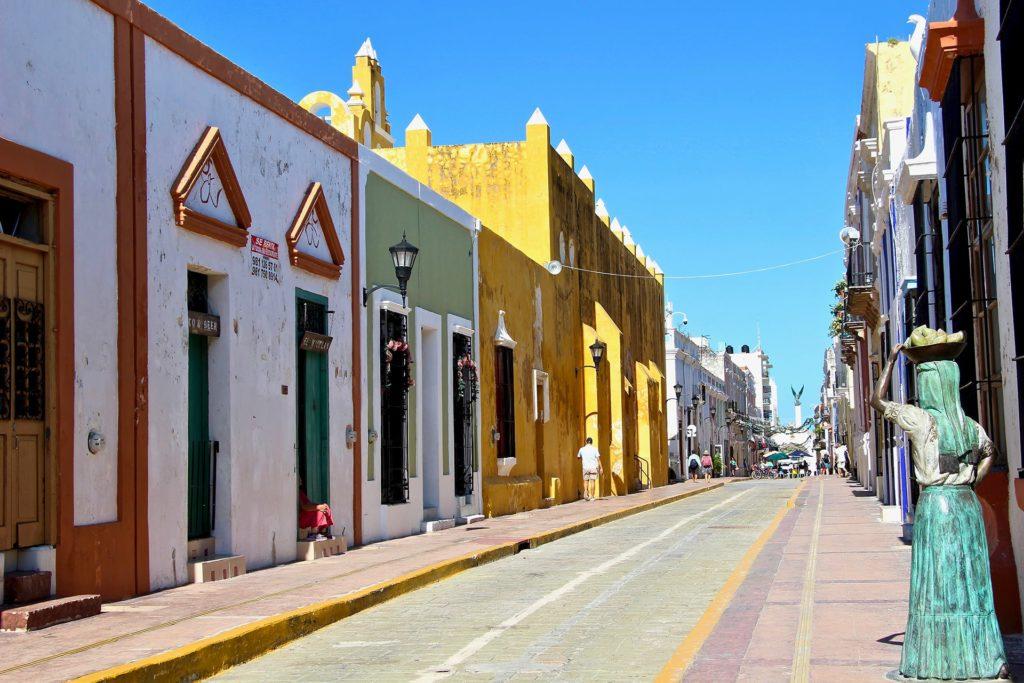 Ville Colorée Campeche Yucatan