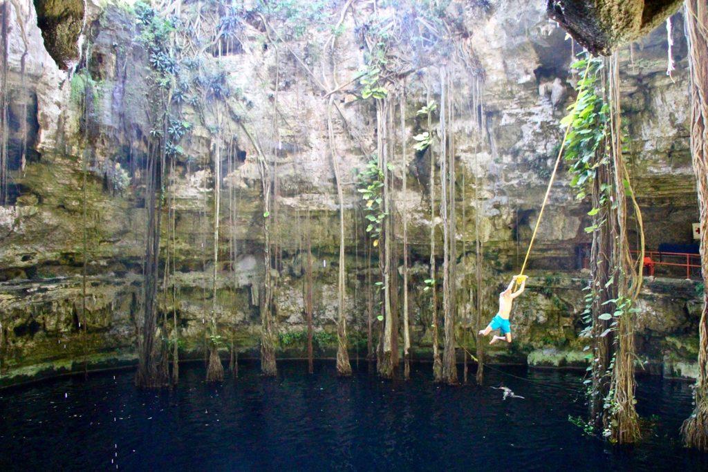 Cenote Oxman près de Valladolid