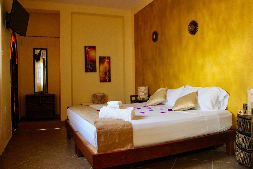 chambre hotel Casa Mazejuwi Campeche