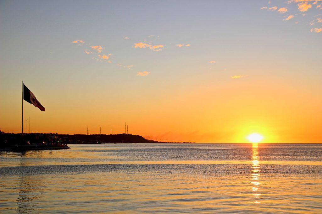 Coucher de soleil Campeche