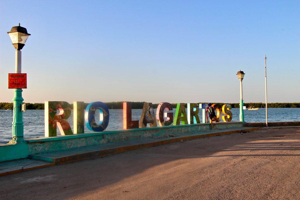 Lettres Rio Lagartos