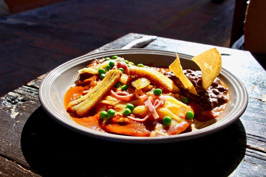 petit dejeuner Luan Campeche