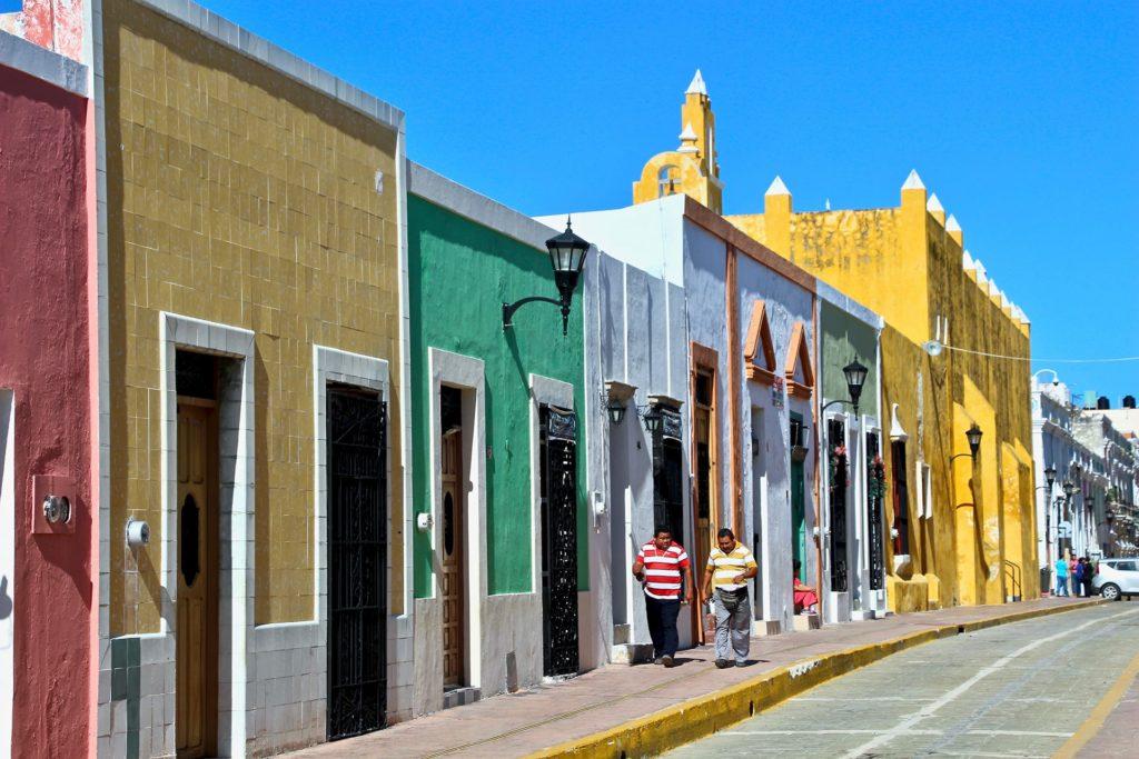 Rue coloree 59 Campeche