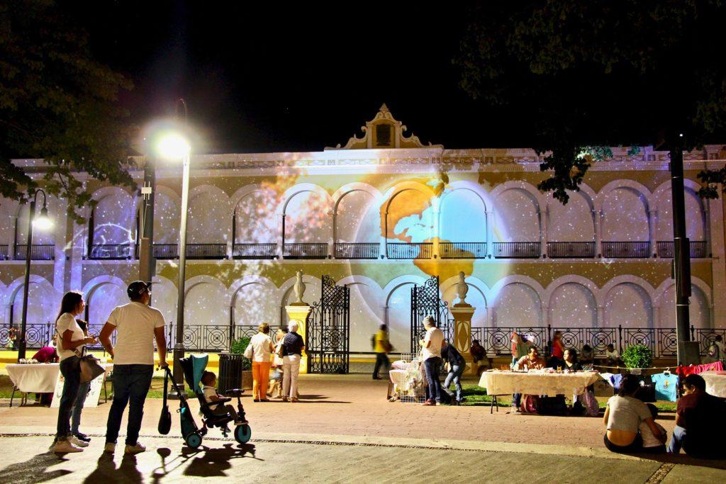 spectacle de son et lumière Campeche