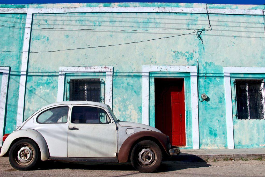vieille voiture à Valladolid