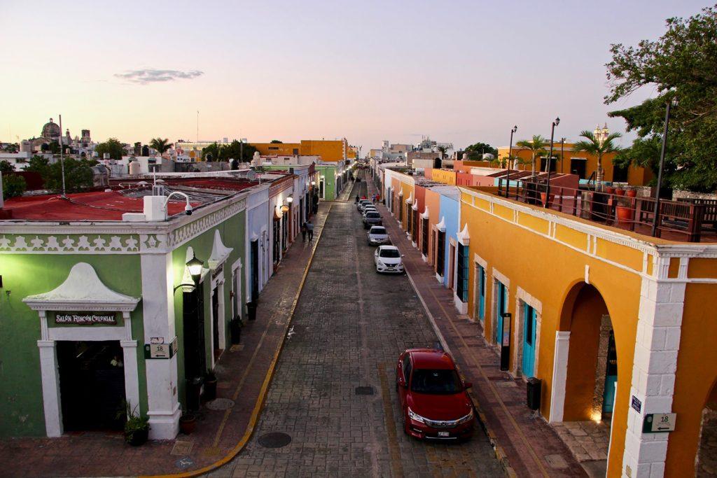 Fin de journée à Campeche