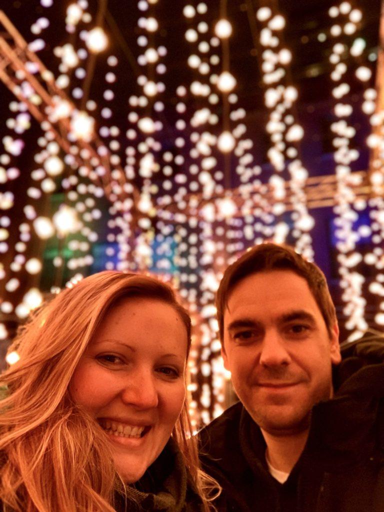 Elo et Tom Toronto Light Festival