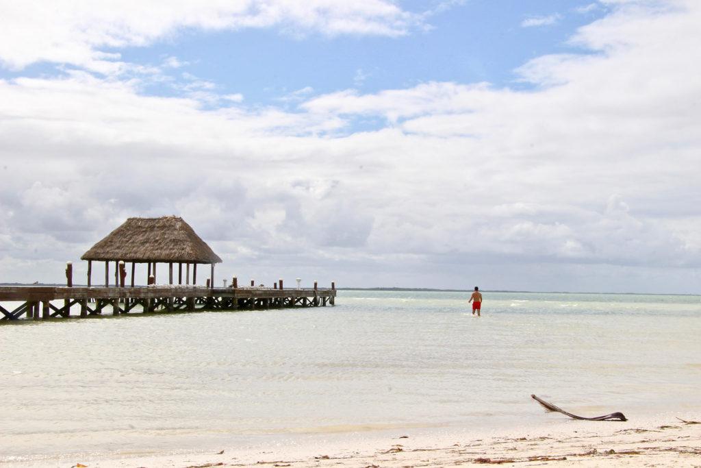 Plage Punta Coco Holbox Mexique