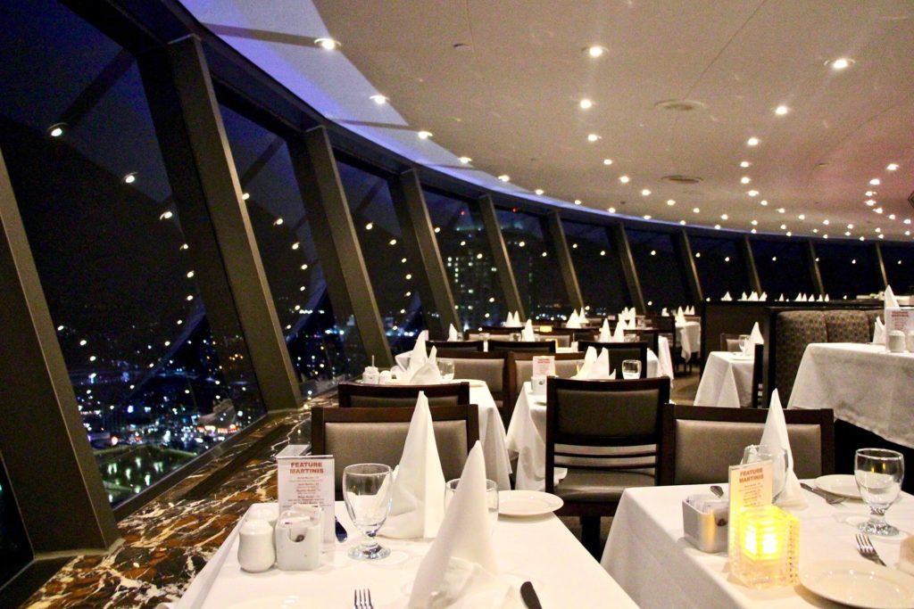 restaurant tour skylon niagara