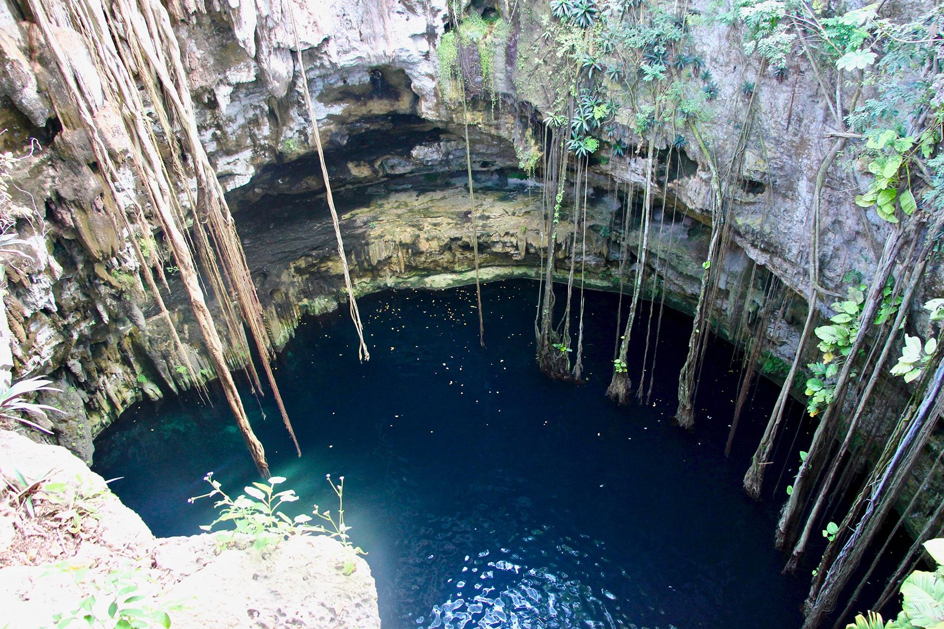 Présentation Cenote Mexique