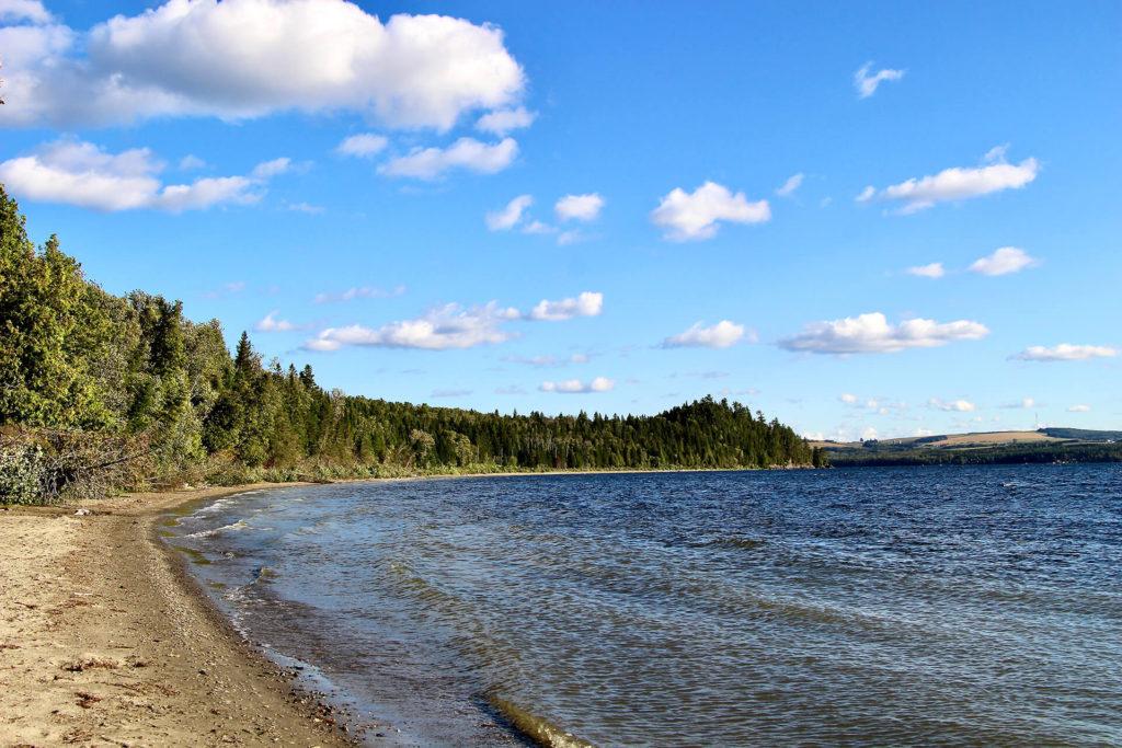 plage Parc du Lac Temiscouata