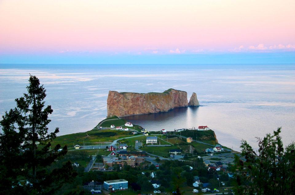 2 jours à Percé en Gaspésie