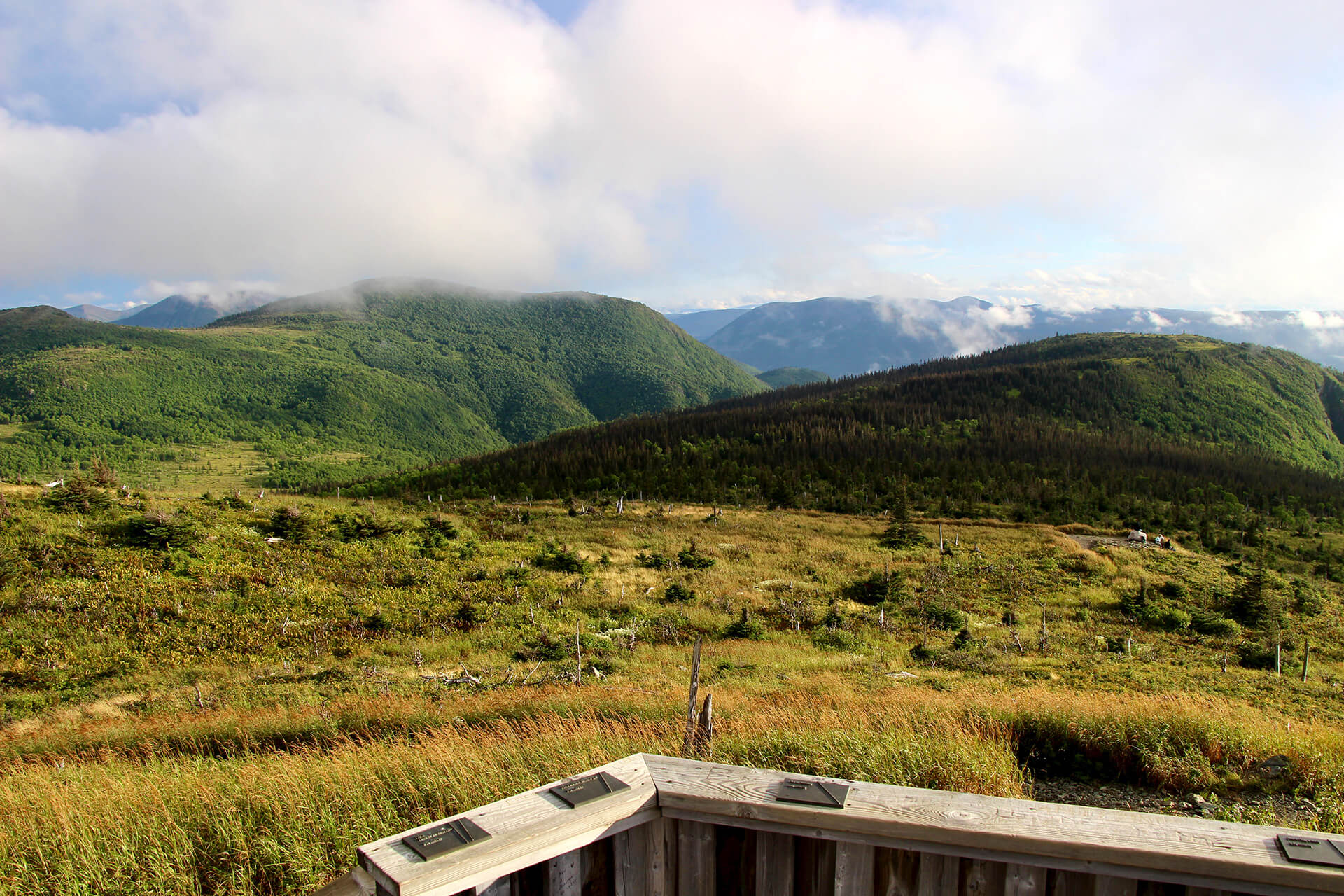 panorama mont ernest laforce parc gaspesie