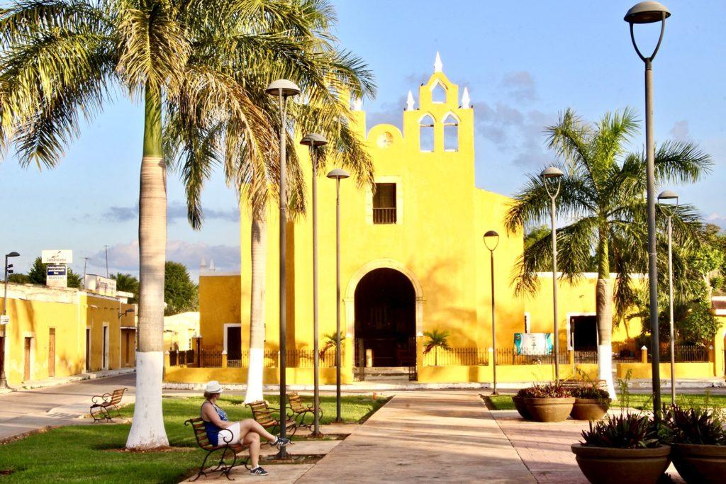 Elo Eglise jaune Izamal