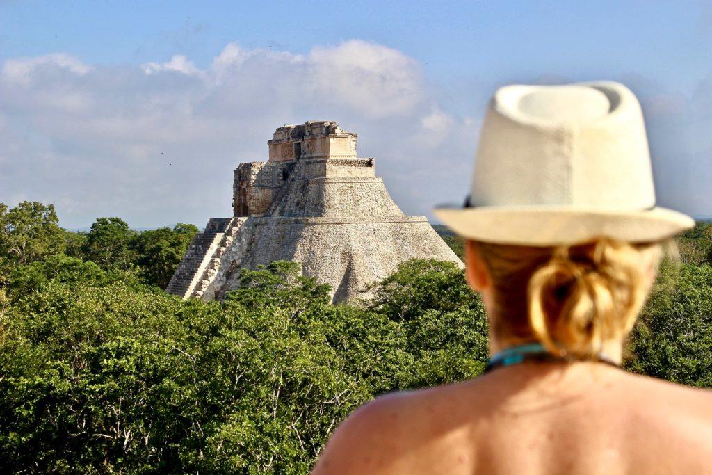 Elo Grande pyramide ruines Uxmal