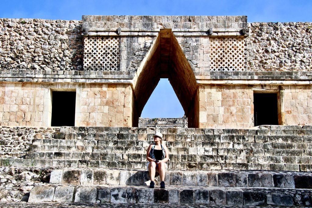 Elo Ruines Uxmal Merida Yucatan