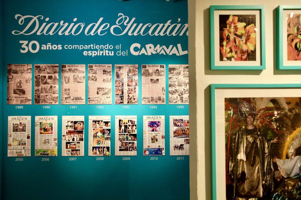 Exposition Carnaval musee Merida Yucatan