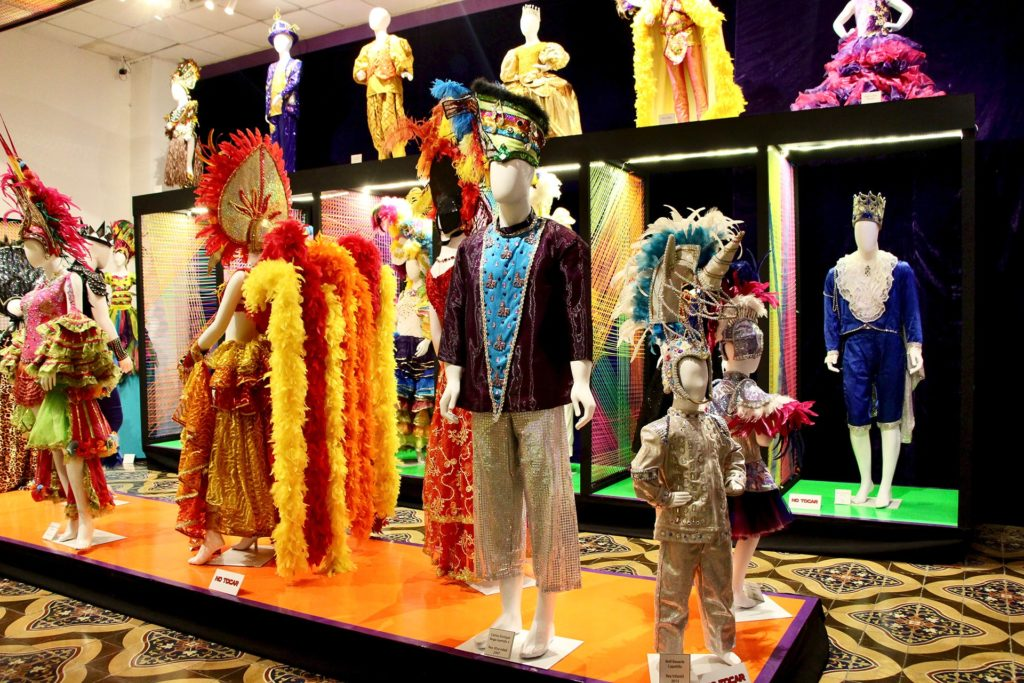 Exposition costumes carnaval