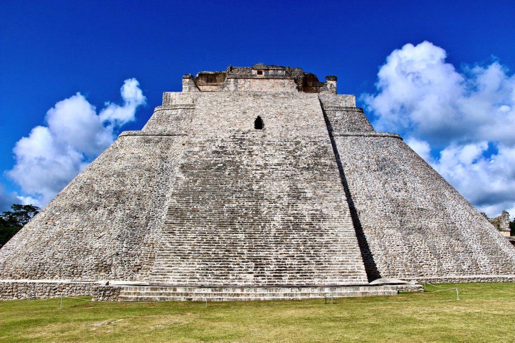 Grande Pyramide Uxmal Merida Yucatan
