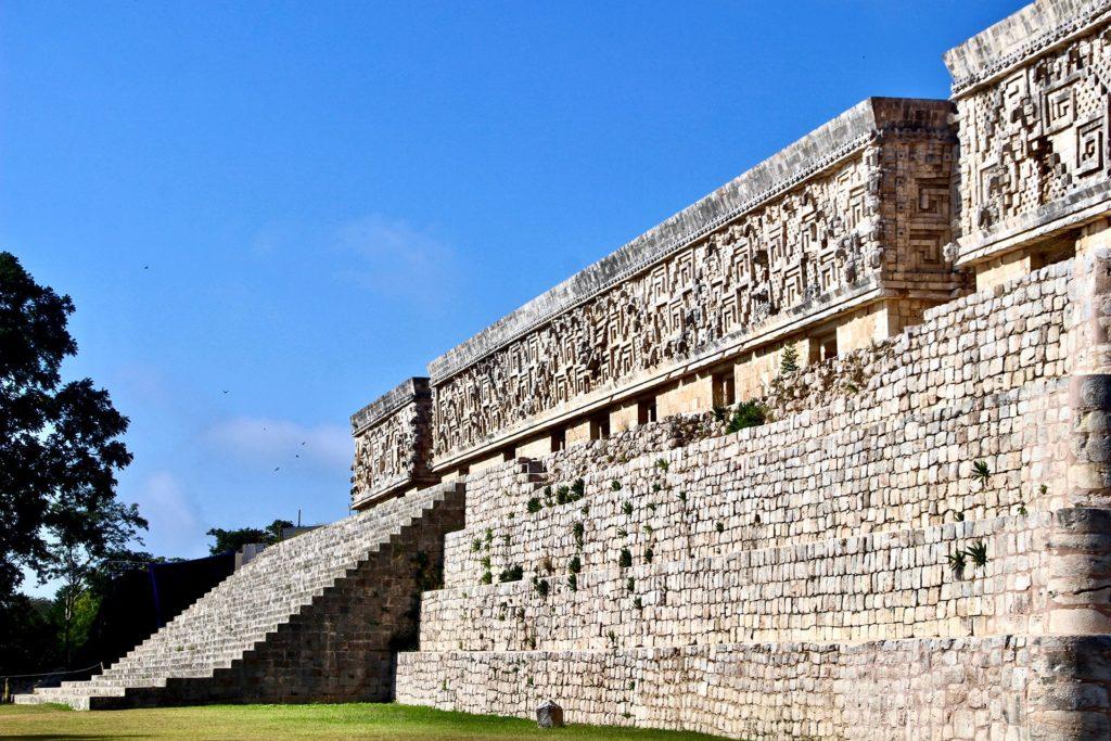 Palais du Gouverneur Uxmal Merida Yucatan