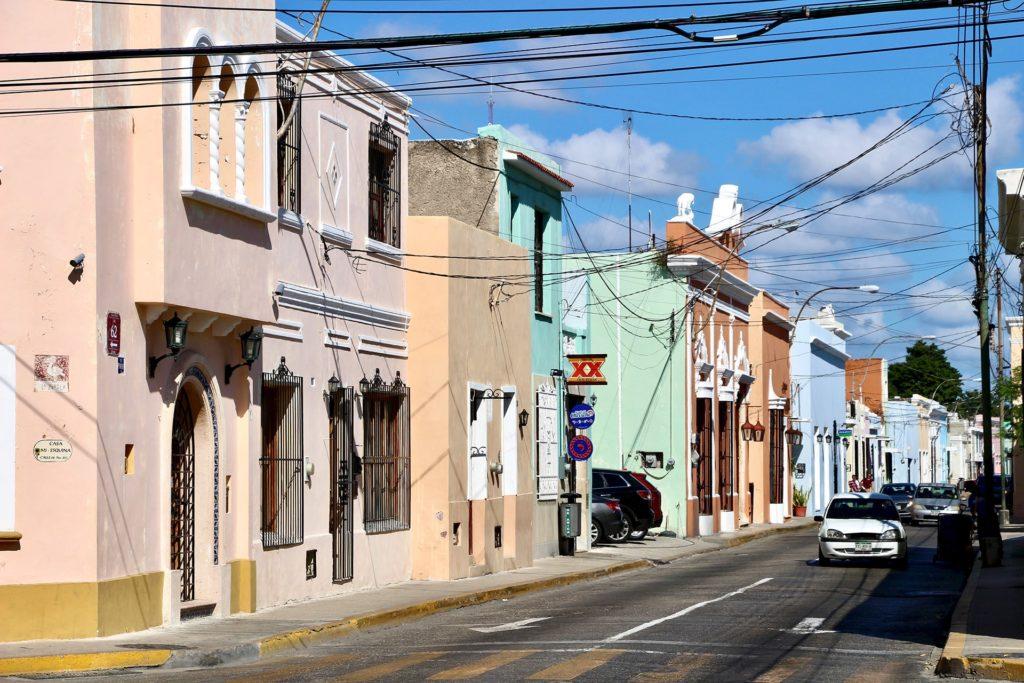 Rue coloree Merida Yucatan