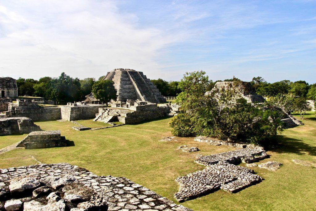 Site ruines Mayapan Yucatan