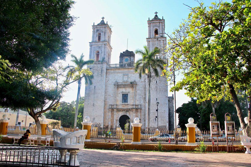 cathedrale de valladolid au yucatan