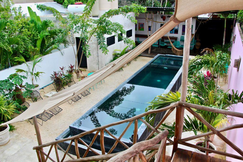 piscine hotel tulum yucatan