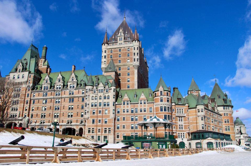 3 jours à Québec en hiver
