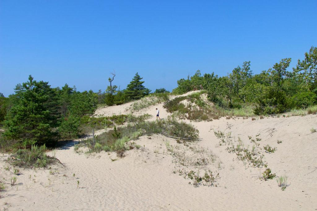 Dunes Beach parc sandbanks ontario